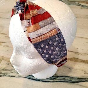 Accessories - American Flag Headband
